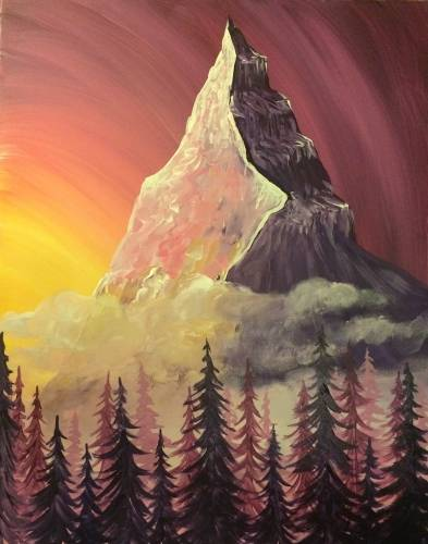 A Dreamscape Peak paint nite project by Yaymaker