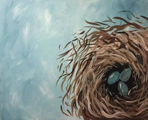 A Nesting Home paint nite project by Yaymaker