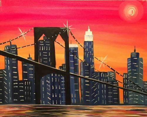 A The Queensboro paint nite project by Yaymaker