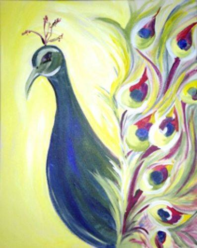 A MsPeacock paint nite project by Yaymaker