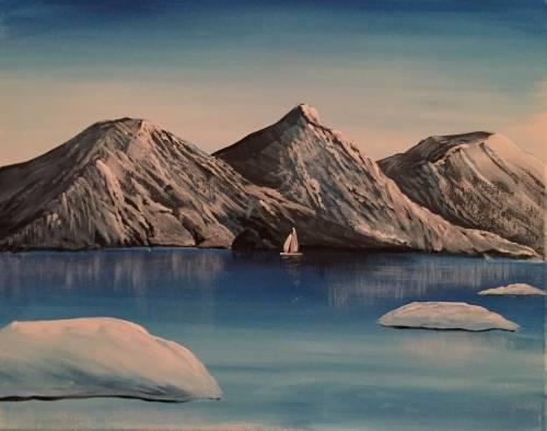 A Alaska paint nite project by Yaymaker