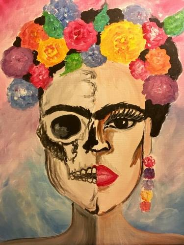 A Your Inner Artist paint nite project by Yaymaker