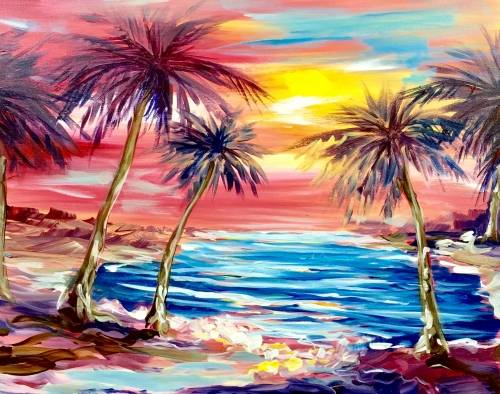 A Relax Baby paint nite project by Yaymaker