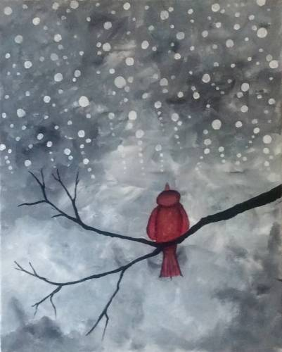 A No More Snow paint nite project by Yaymaker