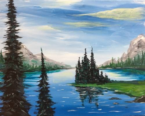 A Heartless Gorge paint nite project by Yaymaker