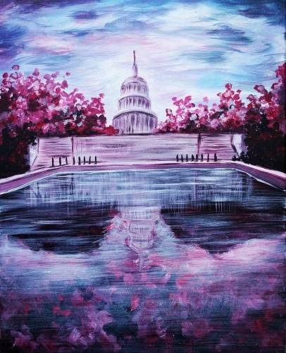 A Pink Capitol paint nite project by Yaymaker