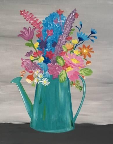 A Wildflower Bouquet II paint nite project by Yaymaker