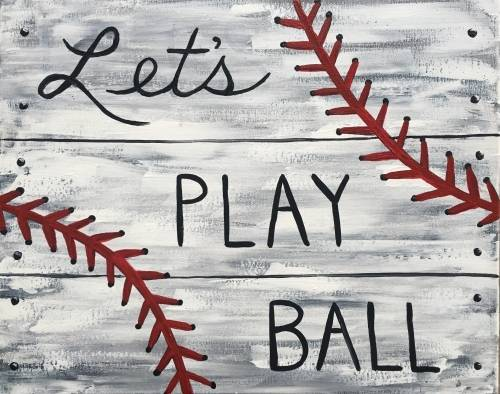 A Play Ball II paint nite project by Yaymaker