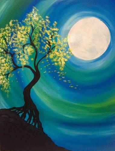 A Lust in the Wind II paint nite project by Yaymaker