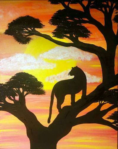 A Sunset Prowl paint nite project by Yaymaker