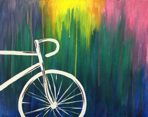 A Brite Bike paint nite project by Yaymaker