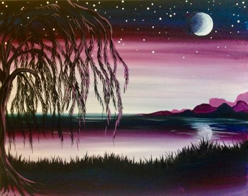 A Twilight Willow paint nite project by Yaymaker