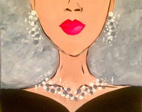 A Shine Bright Like A Diamond paint nite project by Yaymaker