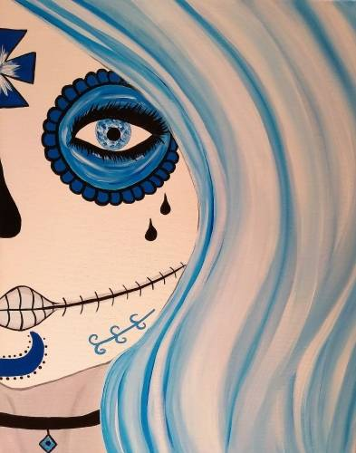 A Skull Series I paint nite project by Yaymaker