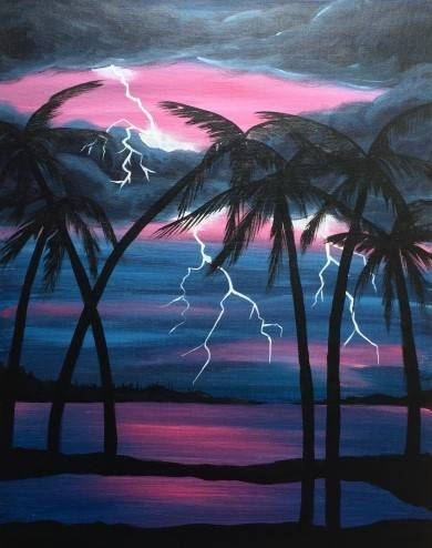 A Tropic Lightning paint nite project by Yaymaker