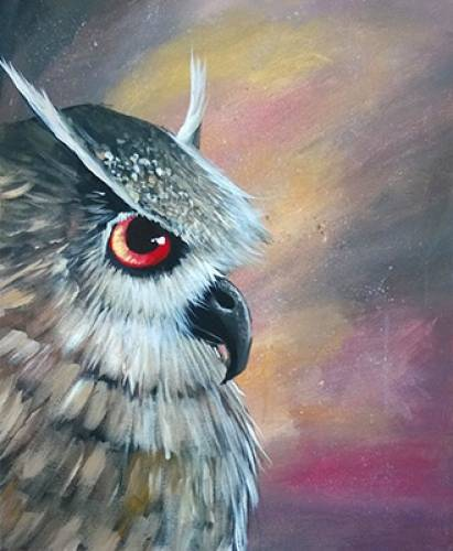 A Fierce Feathers II paint nite project by Yaymaker