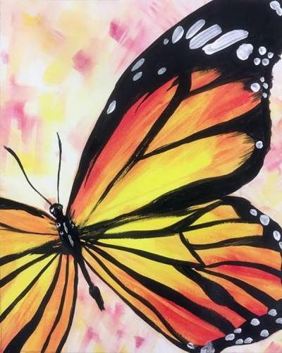 A Butterfly Love paint nite project by Yaymaker