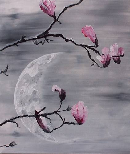 A Magnolia Dream paint nite project by Yaymaker