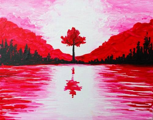 A Oh Canada paint nite project by Yaymaker