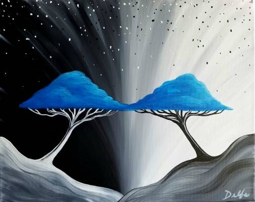 A Treebound paint nite project by Yaymaker