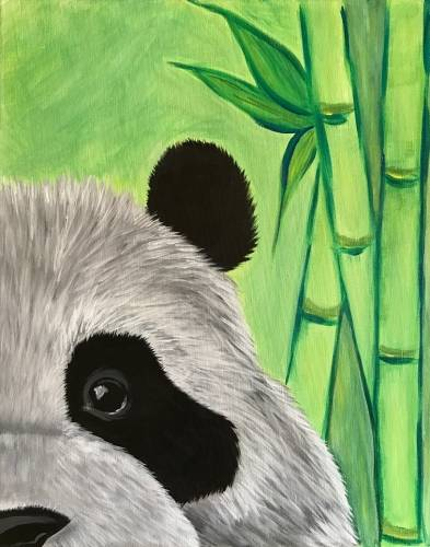 A Zen There was a Panda paint nite project by Yaymaker