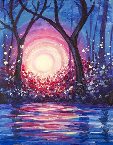A Dance of Light paint nite project by Yaymaker