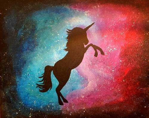 Galaxy-Unicorn-paint-nite-project-by-Yaymaker