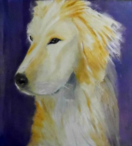 A Special Event Paint Your Pet paint nite project by Yaymaker