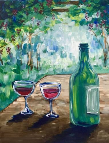 A Wine Country III paint nite project by Yaymaker