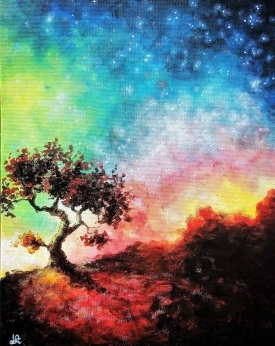 A Arizona Desert II paint nite project by Yaymaker
