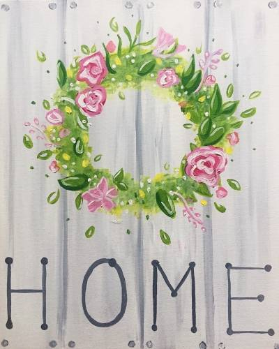 A Spring Home paint nite project by Yaymaker