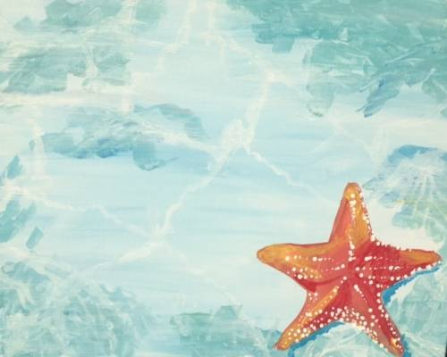 A Star of the Sea paint nite project by Yaymaker