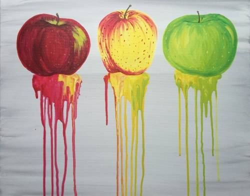 A Apple Trio paint nite project by Yaymaker