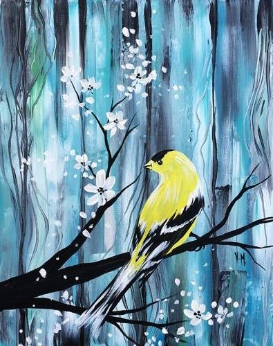 A Gentle Wind paint nite project by Yaymaker