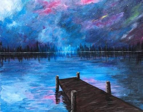 A Reflections of Forever paint nite project by Yaymaker
