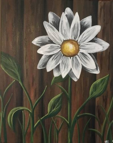 A Lazy Daisy II paint nite project by Yaymaker