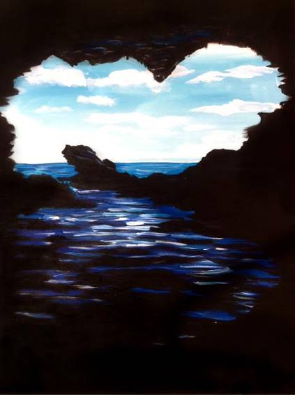 A Love Cove paint nite project by Yaymaker