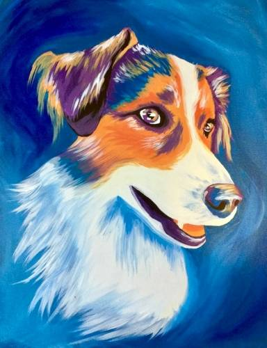 A Paint Your Pet Event III paint nite project by Yaymaker