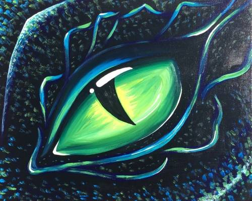 A Dragon Eye paint nite project by Yaymaker