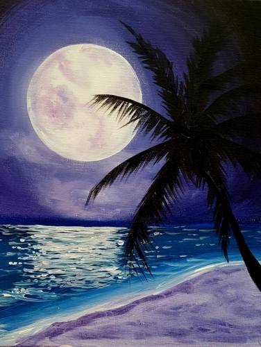 A Indigo Beach paint nite project by Yaymaker