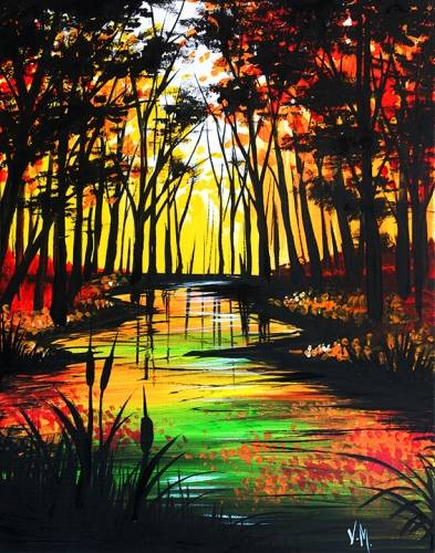 A Falling for Fall paint nite project by Yaymaker