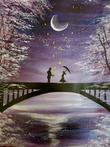 A Lantern Love paint nite project by Yaymaker