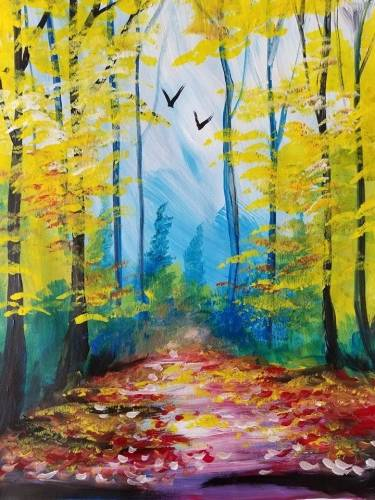 A End of Summer II paint nite project by Yaymaker