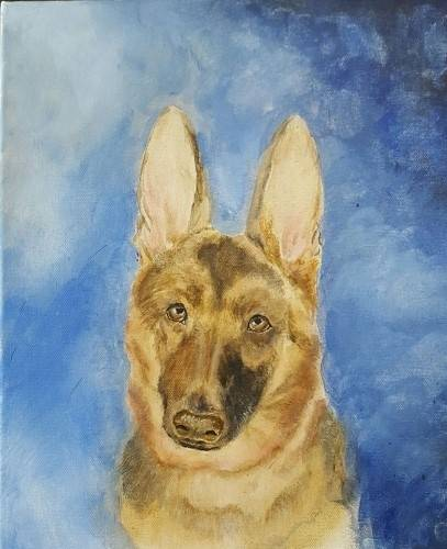A Paint Your Pet IV paint nite project by Yaymaker