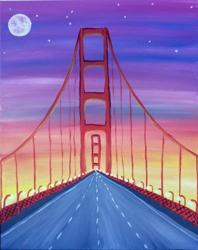 A Through The Gate paint nite project by Yaymaker