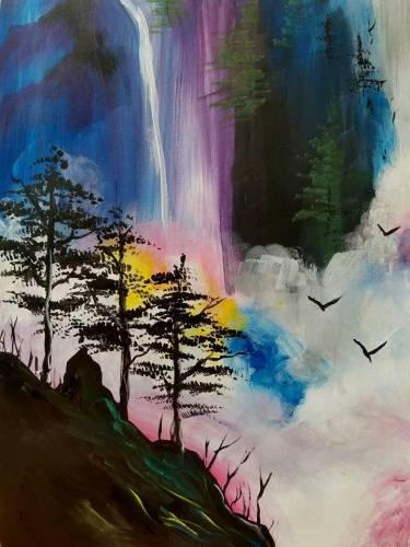 A Hidden Paradise II paint nite project by Yaymaker