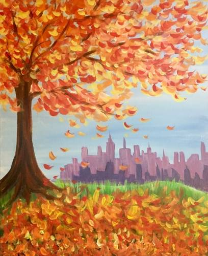 A Fall City II paint nite project by Yaymaker