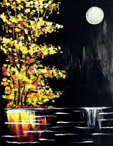 A Autumn Noir paint nite project by Yaymaker