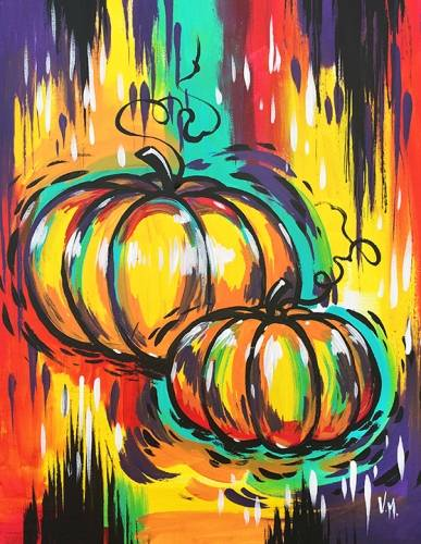 A Pumpkins Galore paint nite project by Yaymaker