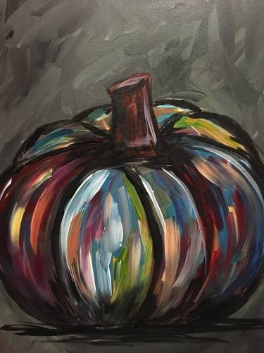 A Gourdgeous paint nite project by Yaymaker